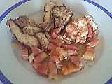 Image : recette Cervelle de veau aux lardons