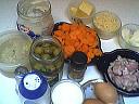Ingrédients pour la recette : Flans de carottes