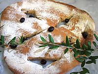 Olive : Fougasse aux olives