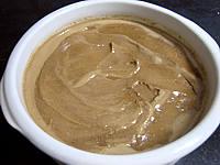 glace chocolat : Saladier de glace au chocolat