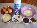 Ingrédients pour la recette : Glace au chocolat café
