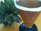cocktail ananas-crème de cassis