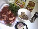 Ingrédients pour la recette : Entrecôte sauce moutarde