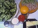 Ingrédients pour la recette : Concombres au paprika