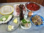 Ingrédients pour la recette : Contre-filets au fromage de chèvre