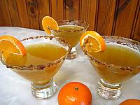 Recette Verres de cocktail au thé, Bourbon et à la menthe