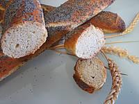 Recette Baguettes de pain en direct aux graines de pavot