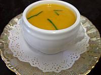Recette Mini-soupière d'amuse-bouche de crème de cardon