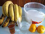Ingrédients pour la recette : Confiture de bananes et bergamotes