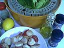 Ingrédients pour la recette : Carpaccio de Saint-Jacques