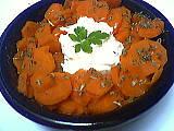 fromage blanc : Saladier de carottes au fromage blanc minceur