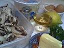 Ingrédients pour la recette : Flans aux champignons