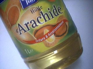 Image : Huile d'arachide