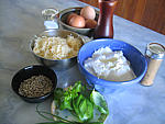 Ingrédients pour la recette : Soufflé au fromage blanc