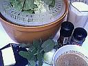 Ingrédients pour la recette : Soupe de laitue à la menthe