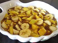 salade de bananes et de mangues