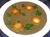 Recette Assiette de velouté de champignons
