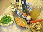 Ingrédients pour la recette : Soupe chinoise aigre et épicée