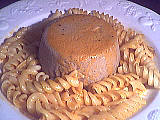 Cuisine diététique : Assiette de terrine de champignons et jambon