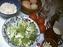 Ingrédients pour la recette : Tarte au chou romanesco