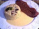 couscous : Assiette de paleron à la sauce aux oignons