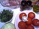 Ingrédients pour la recette : Roussette aux légumes