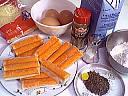 Ingrédients pour la recette : Quiche au surimi