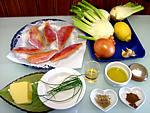 Ingrédients pour la recette : Rougets aux fenouils en cassolettes