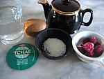 Ingrédients pour la recette : Thé aux fruits