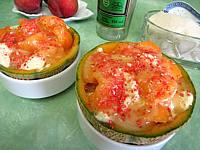 Image : Melon glacé à la liqueur de Chartreuse