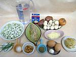 Ingrédients pour la recette : Velouté de fèves aux harengs