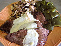 Recette Assiette de cheval et sa sauce martini blanc