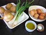 Ingrédients pour la recette : Tortilla de patatas