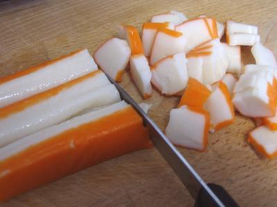 Photo : Bâton de surimi