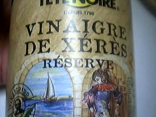 Image : Vinaigre de Xérès