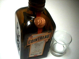 Photo : Bouteille de cointreau