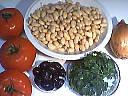 Ingrédients pour la recette : Salade de haricots blancs