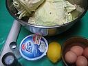Ingrédients pour la recette : Tarte au chou et au mascarpone