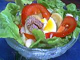 Image : Coupe de salade jardin