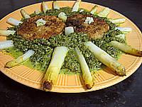 Image : Assiette de thon aux épinards