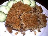 mouton : Assiette de kebbé
