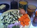 Ingrédients pour la recette : Potage au maïs