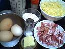 Ingrédients pour la recette : Quiche sans pâte