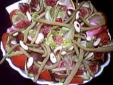 Image : Plat de salade d&#39;endives et jambon