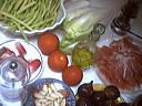 Ingrédients pour la recette : Salade d'endives et jambon