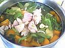 Soupe au potiron et épinards - 9.1