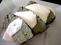 cinq épices : Assiette de terrine de veau aux épinards