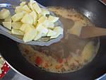 Soupe au lard et patates douces - 7.3