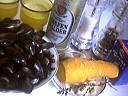 Ingrédients pour la recette : Moules aux carottes
