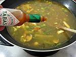 Soupe au lard et topinambours - 10.2
